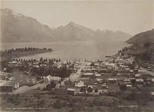 Queenstown Lake Wakatipu New Zealand c1880