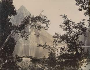 Mitre Peak Milford Sound NZ c1890