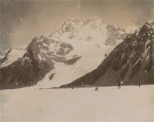 Tasman Glacier Mt Cook NZ c1890