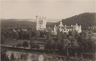 Balmoral Castle Scotland c1875