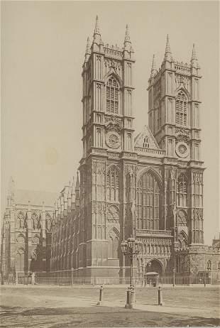 Westminster Abbey. London. c1875