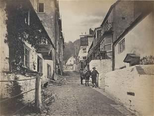 New Inn Clovelly Cornwall England c1875