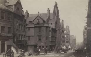 John Knoxs House Edinburgh Scotland c1880