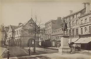 Market Place Shrewsbury c1875