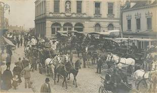 Windsor High Street on Ascot Day c1895
