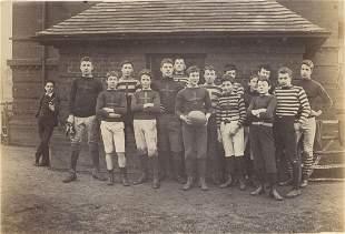 Harrow School Football Team. c1884
