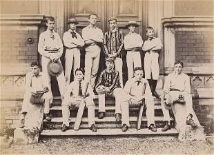Harrow School Cricket Team. C1885.
