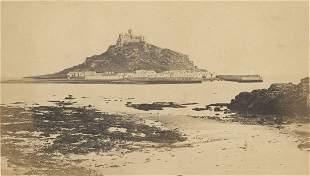 St. Michael's Mount, Penzance, Cornwall. C1870