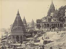 Benares; Vishnu Pud and Other Temples near the Burning