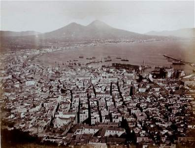 Panorama of Naples and Bay.