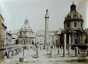 Trajans Column and Forum Rome