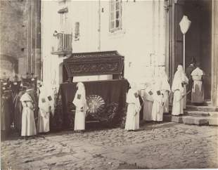 Funeral procession of Monks of Misericorde Naples