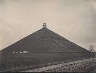 Belgian Lion Battlefield of Waterloo near Brussels