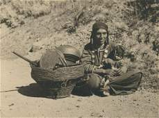 Hill Gujar gypsy woman, Kashmir. c1937