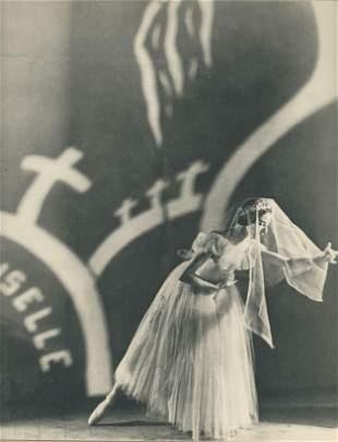 Alicia Markova in Giselle c1937