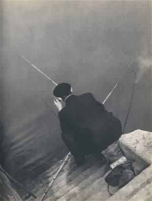 Fishing in the Seine C1950