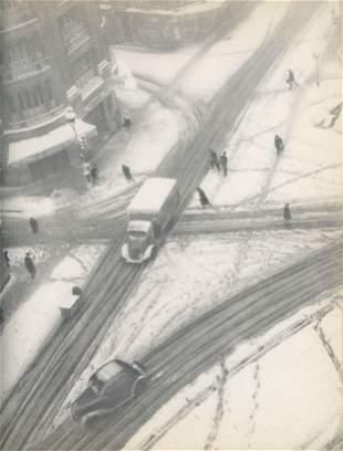 Paris in Winter C1950