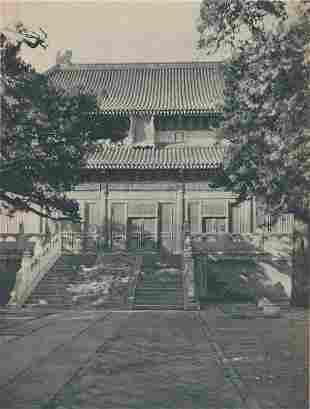 Temple of Confucius c1920