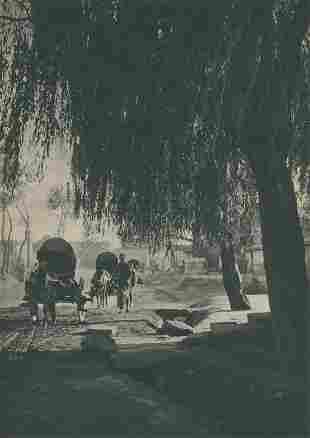 Wan Fo Ssu Temple of Ten Thousand Buddhas c1920