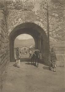 Peking City Gate - Wei-hai-wei. c1914