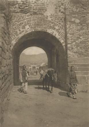 Peking City Gate Weihaiwei c1914