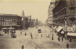 Market Street, San Francisco, California, c1880