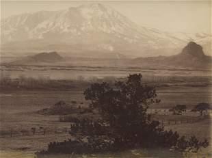 Spanish Peaks, Rio Grande, Colorado. C1875