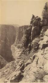 Royal Gorge, Colorado, from the Top. C1880