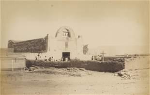 The Church, Pueblo San Juan, New Mexico. c1885