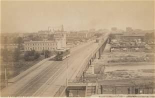 16th Street Viaduct, Denver. C1880