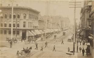 Larimer Street, Denver. C1880