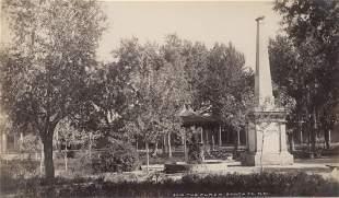 The Plaza, Santa Fe, New Mexico, c1875
