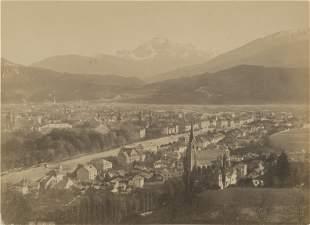 Panorama of Innsbruck. c1870