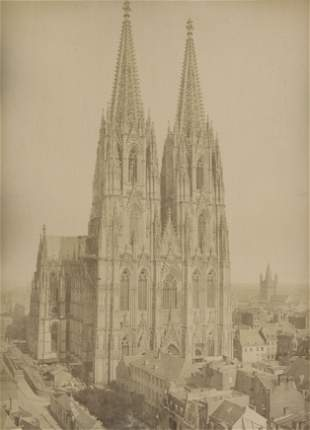 Cologne Cathedral after construction. August 1883.
