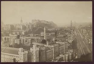 Edinburgh from Calton Hill. C1880
