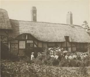 Anne Hathaway's Cottage, Stratford-upon-Avon. c1900