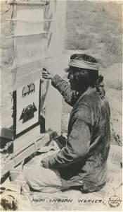 Hopi Indian Weaver. c1950