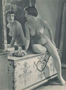 French Nude. C1950