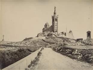 Church of Notre Dame de la Garde, Marseilles. c1890