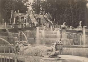 Fountain of St. Cloud. C1890