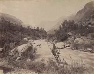 Aconcagne River, Uspallata Pass, Chile. c1875