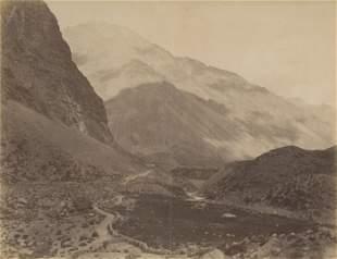 Uspallata Pass, Chile. c1875