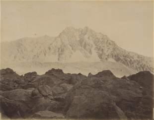 Uspallata Pass, Cordiera de los Andes. c1875