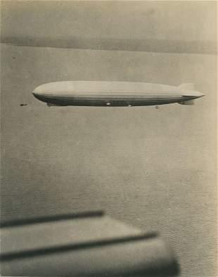Graf Zeppelin in Flight. C1928