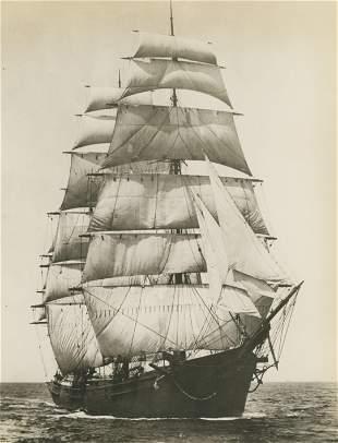 The Old Clipper, Benjamin F. Packard. c1920