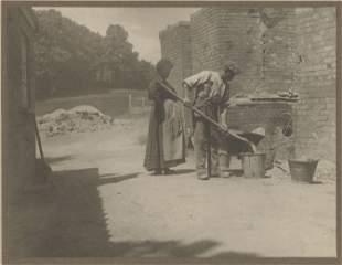 Man at Work. c1910