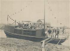 Houseboat, Tiensin, China. C1900