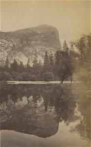Mirror Lake and Mount Watkins. C1880 by Carleton