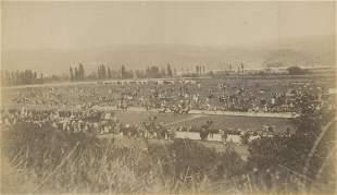 CHILE. Racecourse in Valparaiso. c1875