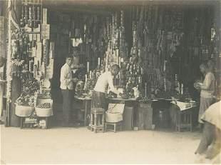 CHINA. Food Shop. C1931